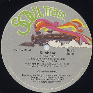 Sunbear / S.T. label