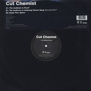 Cut Chemist / The Audience Is Rural