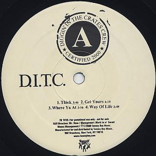 D.I.T.C. / D.I.T.C. back