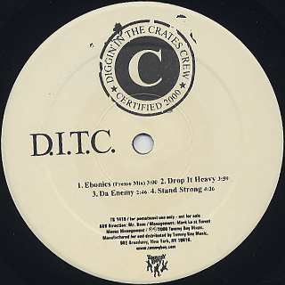D.I.T.C. / D.I.T.C. label