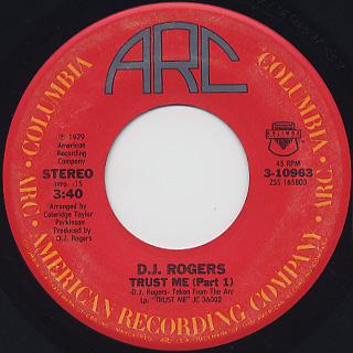 D. J. Rogers / Trust Me