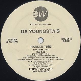 Da Youngsta's / Wild Child label