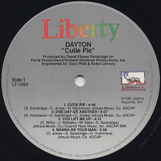 Dayton / Cutie Pie label