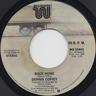 Dennis Coffey / Our Love Goes On Forever back