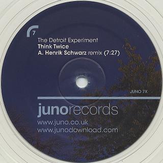 Detroit Experiment / Think Twice Henrik Schwarz Remixes