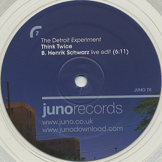 Detroit Experiment / Think Twice Henrik Schwarz Remixes back