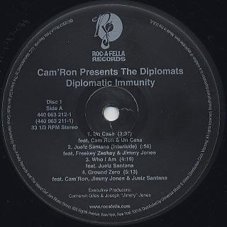 Diplomats / Diplomatic Immunity label