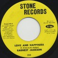 Earnest Jackson / Love And Happiness