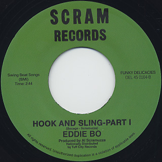 Eddie Bo / Hook And Sling - Part I & II back