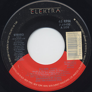 Grandmaster Flash & The Furious Five / Fly Girl c/w Cold In Effect