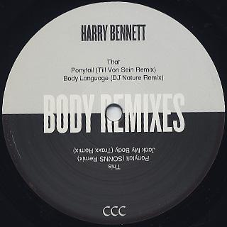 Harry Bannett / Body -Remixes- back