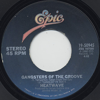 Heatwave / Gangsters Of The Groove