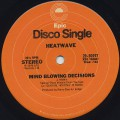 Heatwave / Mind Blowing Decisions c/w Ain't No Half Steppin'
