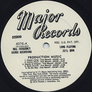 Herman Vallozzi, Tom Manoff / Production Music