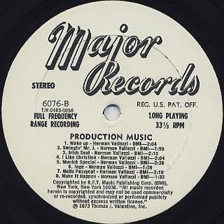 Herman Vallozzi, Tom Manoff / Production Music back