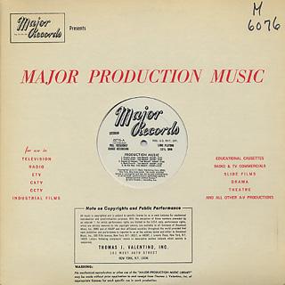 Herman Vallozzi, Tom Manoff / Production Music label