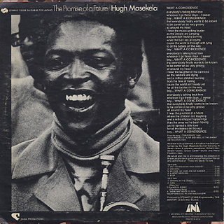 Hugh Masekela / The Promise Of A Futue back