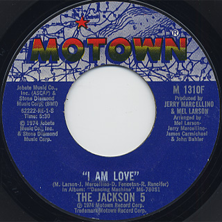 Jackson 5 / I Am Love front