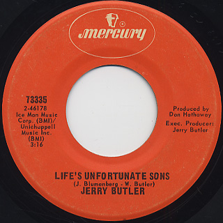 Jerry Butler / One Night Affair back