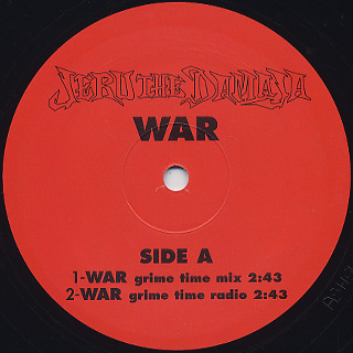 Jeru The Damaja / War label