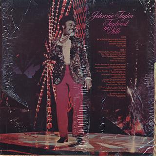 Johnnie Taylor / Taylored In Silk back