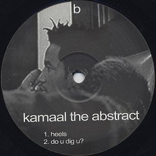 Kamaal / Kamaal The Abstract back