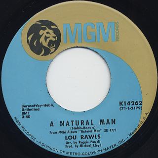 Lou Rawls / Natural Man (45)