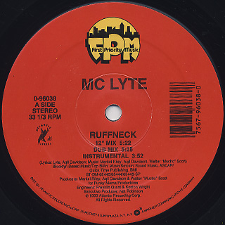 MC Lyte / Ruffneck c/w Brooklyn