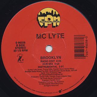 MC Lyte / Ruffneck c/w Brooklyn back