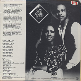 Mac and Katie Kissoon / The Two Of Us back