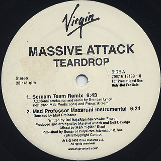 Massive Attack / Teardrop