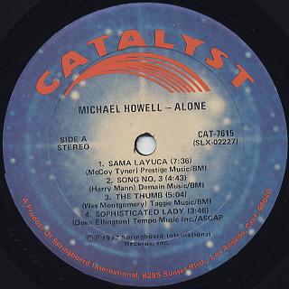 Michael Howell / Alone label
