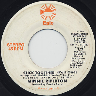 Minnie Riperton / Stick Together(Part One)