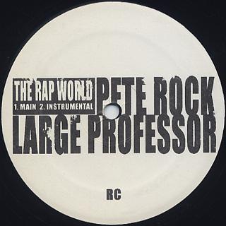 Pete Rock & Large Professor / Rap World