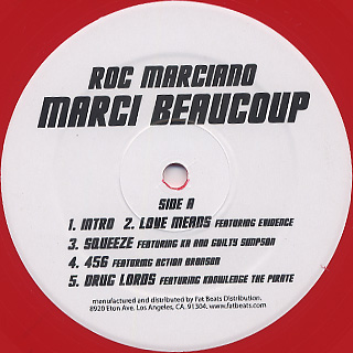 Roc Marciano / Marci Beaucoup label