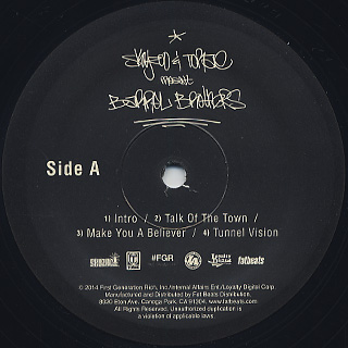 Skyzoo & Torae / Barrel Brothers label