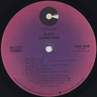 Slave / Showtime label