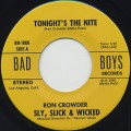 Sly, Slick & Wicked / Tonight's The Nite