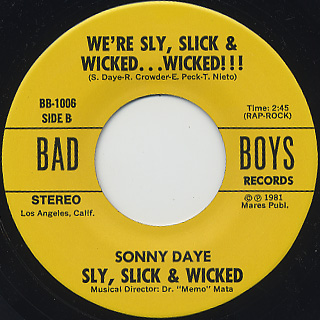 Sly, Slick & Wicked / Tonight's The Nite back