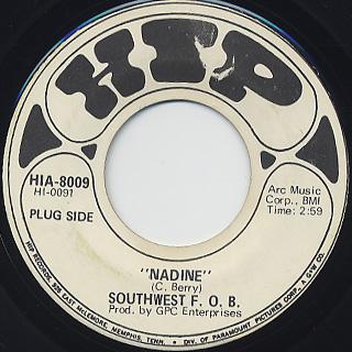 Southwest F.O.B. / Nadine back