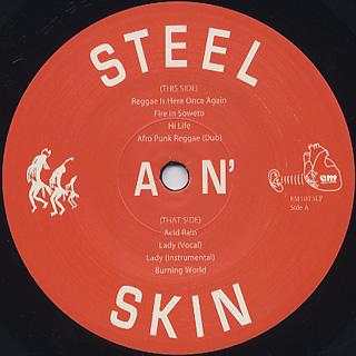 Steel An' Skin / S.T.(New Jacket) label
