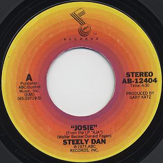Steely Dan / Josie c/w Black Cow