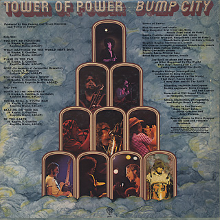 Tower Of Power / Bump City back