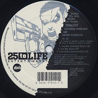Tragedy / LA, LA label
