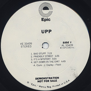 UPP / S.T. label