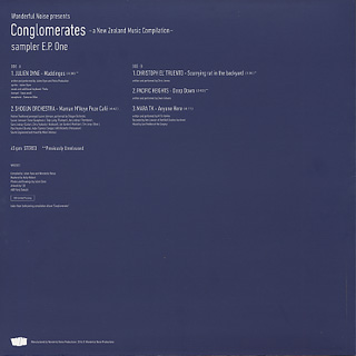 V.A. / Wonderful Noise presents Conglomerates Sampler E.P. One back