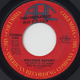 Weather Report / River People back