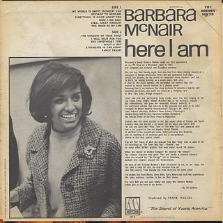 Barbara McNair / Here I Am back