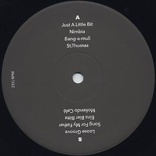 Black Wax / On The Wax label