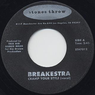 Breakestra / Cramp Your Style (45)